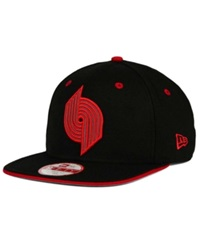New Era Portland Trail Blazers Hwc Reflipper 9Fifty Snapback Cap Black