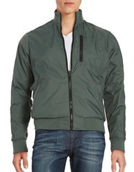 Kenneth Cole Reversible Bomber Jacket Cave Combo