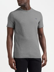 Fred Perry Oxford T Shirt Steel Marl