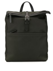 Mismo Buckle Strap Backpack Green