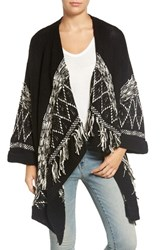 Hinge Women's Embroidered Cardigan