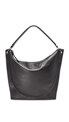 Dkny Molded Hobo Bag Black