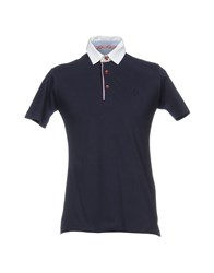Havana And Co Co. Polo Shirts Dark Blue