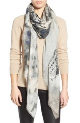 Lily And Lionel Women's Lily And Lionel 'Oberon' Print Modal And Cashmere Scarf