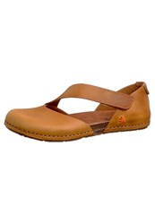 Art Kreta Ballet Pumps Cognac