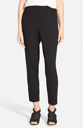 Women's Eileen Fisher Slouchy Slim Jersey Ankle Pants