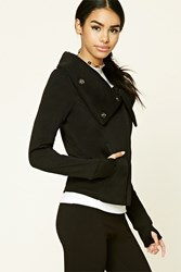 Forever 21 Zip Funnel Neck Jacket