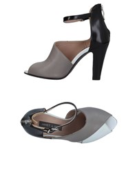 Janet And Janet Sandals Grey