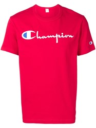 Champion Embroidered Logo T