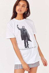 Urban Outfitters Breakfast Club Short Sleeve Tee White