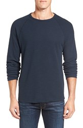 Billy Reid Men's Waffle Knit Thermal T Shirt