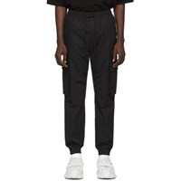 Juun.J Black Cotton Cargo Pants