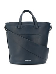 Troubadour Contour Oval Bag Blue