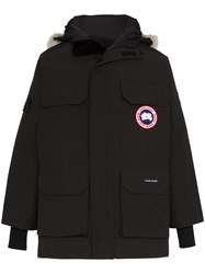 Canada Goose Expedition Coyote Fur Trim Parka Black