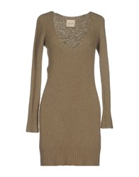 Lou Lou London Short Dresses Khaki