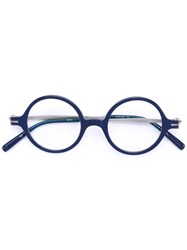 Matsuda Clip On Sunglasses Frames Unisex Acetate Titanium 43 Blue