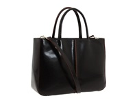 Hobo Mariella Black Venice Leather Tote Handbags