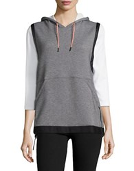 Under Armour Luster Hooded Vest Grey