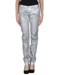 Faith Connexion Denim Pants Silver
