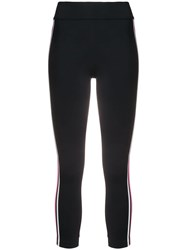 No Ka' Oi Side Stripe Leggings Black