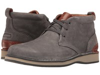 Rockport Prestige Point Chukka Charcoal Men's Lace Up Boots Gray