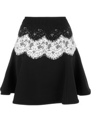 Lanvin Lace Skirt Black