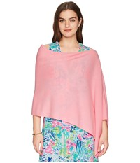 Lilly Pulitzer Nilly Wrap Melon Fig Scarves Pink