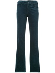 Armani Jeans Straight Trousers Green