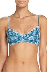 Honeydew Intimates Women's 'Camellia' Lace Bralette High Tide Floral