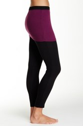 Magid Two Tone Skirt Overlay Legging
