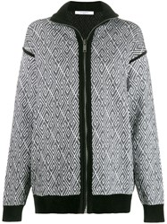 Givenchy 4G Knitted Cardigan Black