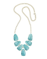 Kendra Scott Harlie Statement Necklace Turquoise