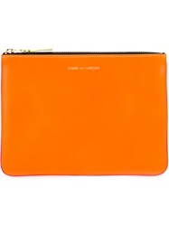 Comme Des Garcons Wallet 'New Super Fluo' Purse Yellow And Orange