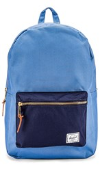 Herschel Supply Co. Settlement Backpack In Blue. Riverside And Peacoat
