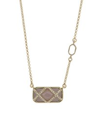 Ivanka Trump Pendant Necklace Beige