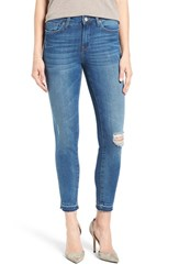 Mavi Jeans Women's Alissa Distressed Stretch Skinny Ankle
