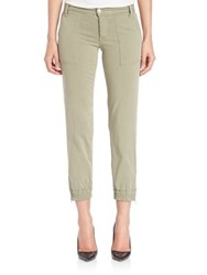 Joe's Jeans Edita Flight Zip Pants Army Green