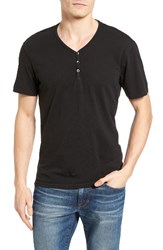 The Rail Men's Pigment Dyed Henley T Shirt