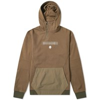 Mhi Maharishi Ghost Dragon Tech Popover Hoody Green