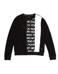 Religion Outlawed Sweatshirt With Printed Panel