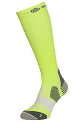 Skins Sports Socks Fluro Citron Pewter Yellow