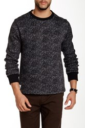 Native Youth Knit Fleece Crew Neck Sweater Multi