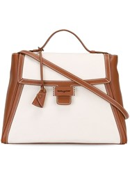 Myriam Schaefer Medium 'Baby Byron' Tote Nude And Neutrals