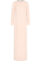 Adam By Adam Lippes Embellished Silk Crepe Gown