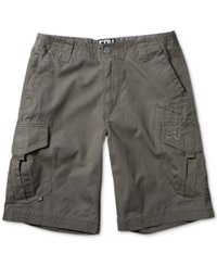 Fox Slambozo Cargo Shorts Charcoal
