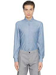 Z Zegna Slub Cotton Shirt