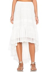 Spell And The Gypsy Collective Boho Bella Skirt White