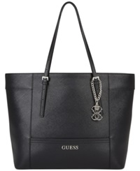 Guess Delaney Medium Classic Tote Black