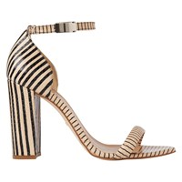 Whistles Hyde Block Heeled Sandals Nude