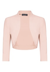 James Lakeland 3 4 Sleeve Bolero Pink